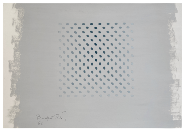Untitled [Study towards Deny and Nineteen Greys] - Bridget Riley