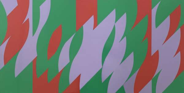 About Lilac - Bridget Riley