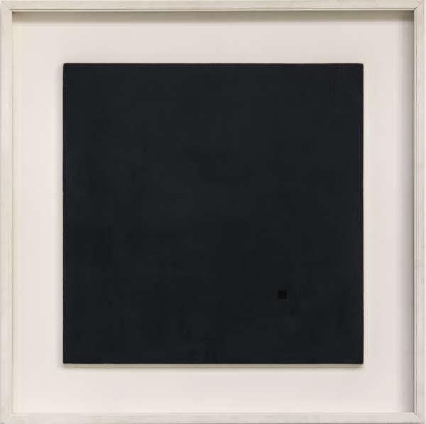 Dimensione di Luce Nero - Antonio Calderara