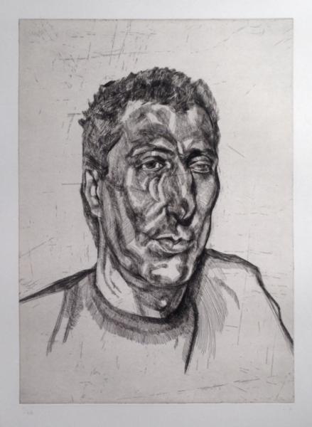 Head of Ali - Lucian Freud