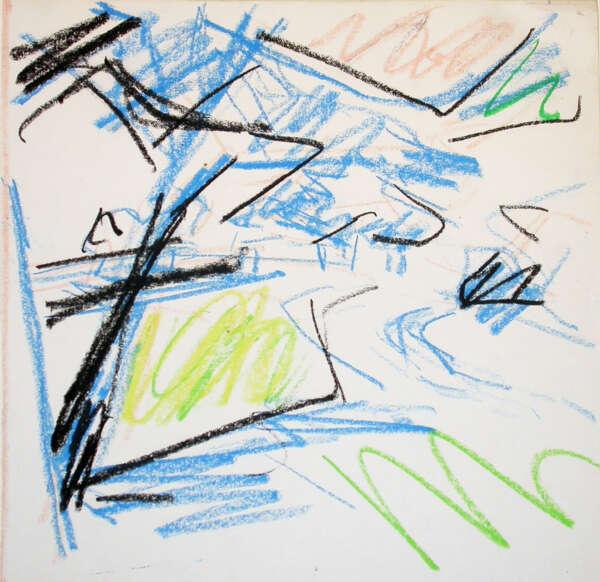 Primrose Hill - Frank Auerbach