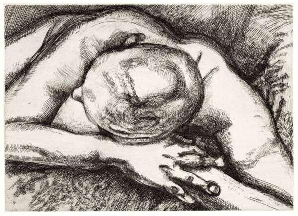 Reclining Figure - Lucian Freud