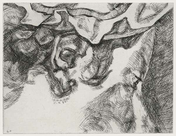 before the fourth - Lucian Freud
