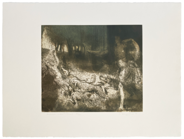 Actaeon after Titian - Hughie O'Donoghue