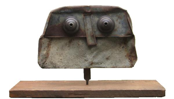 Untitled Figure (Owl) - Julian Dyson