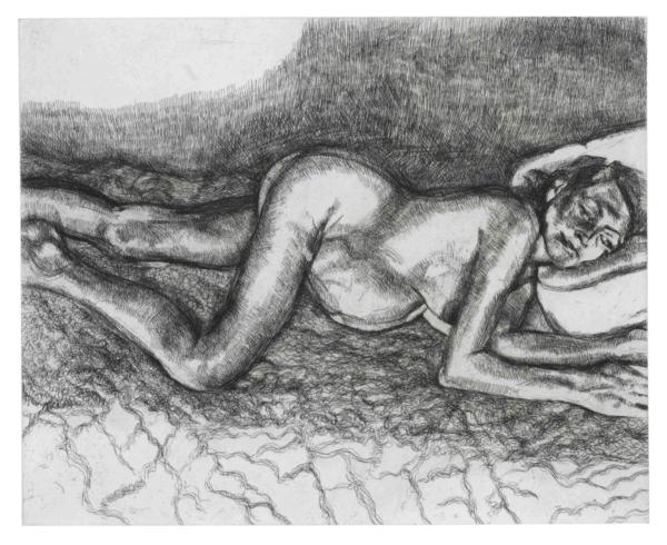 freud bella - Lucian Freud