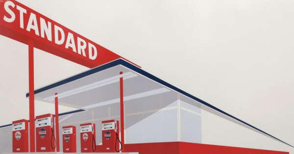 Standard Station - Ed Ruscha