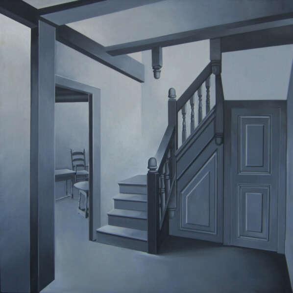 Marshfield House, Massachusetts (Isaac Winslow House, Marshfield) - Lowell Blair Nesbitt