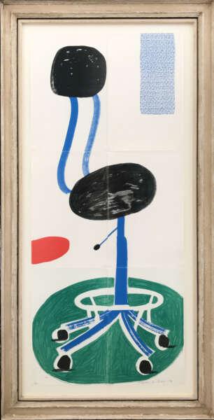 Office Chair - David Hockney