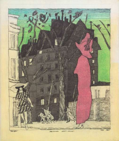 Lyonel Feininger - City and sea - Lyonel Feininger