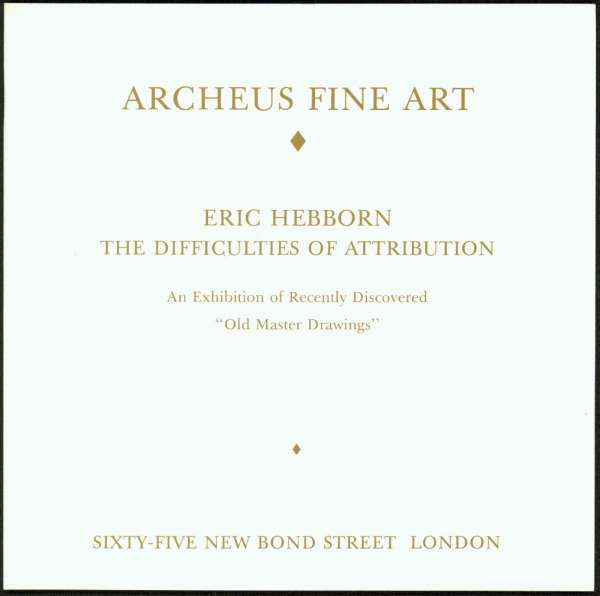 Eric Hebborn: The Difficulties of Attribution - Forgery Interest