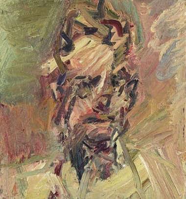 Head of David Landau - Frank Auerbach
