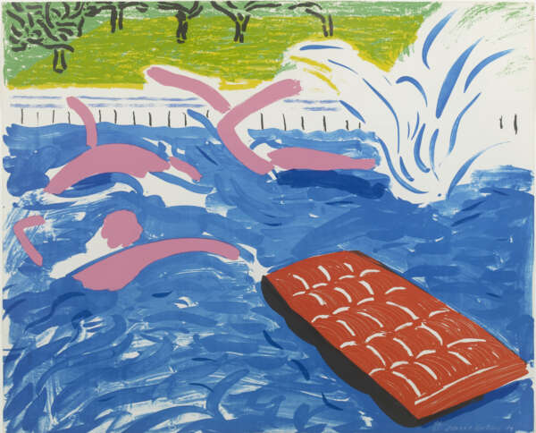 Afternoon Swimming - David Hockney