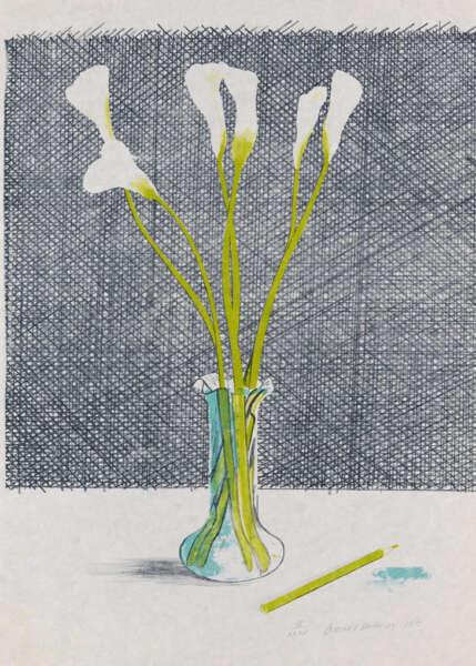 Lillies - David Hockney