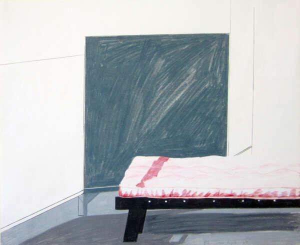 Los Angeles Interior - David Hockney