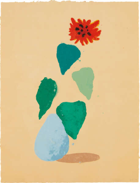 Sunflower - David Hockney