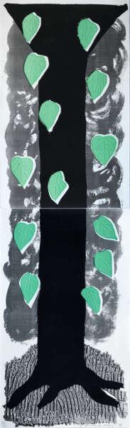 The Tall Tree - David Hockney