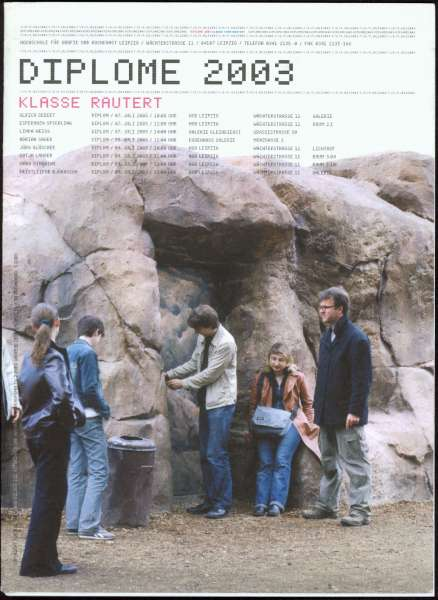 Klasse Rautert : Diplome 2003 - Leipzig Photography