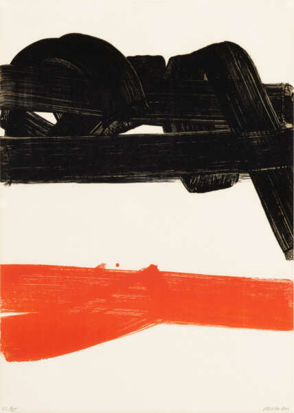 Lithographie n° 27 - Pierre Soulages
