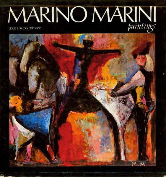 Marino Marini: Paintings - Marino Marini