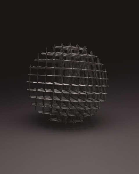 Sphère-Trame - François Morellet