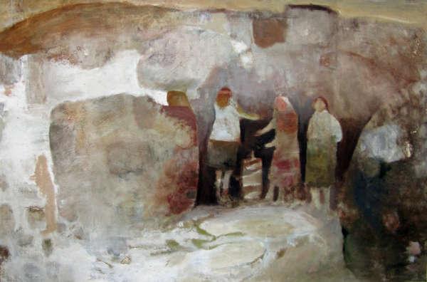 Women and Shells, Connemara - Mary Newcomb
