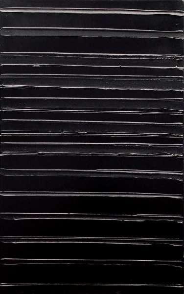 Peinture 130 x 81 cm, 18 juin 2004 - Pierre Soulages