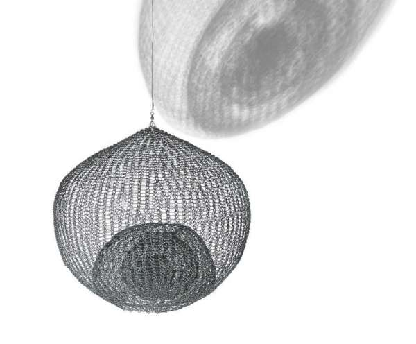 Untitled, (S.606, Hanging Single-Lobed Five-Layer Continuous Form Within a Form) - Ruth Asawa