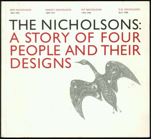 The Nicholsons : A Story of Four People and their Designs - British Art